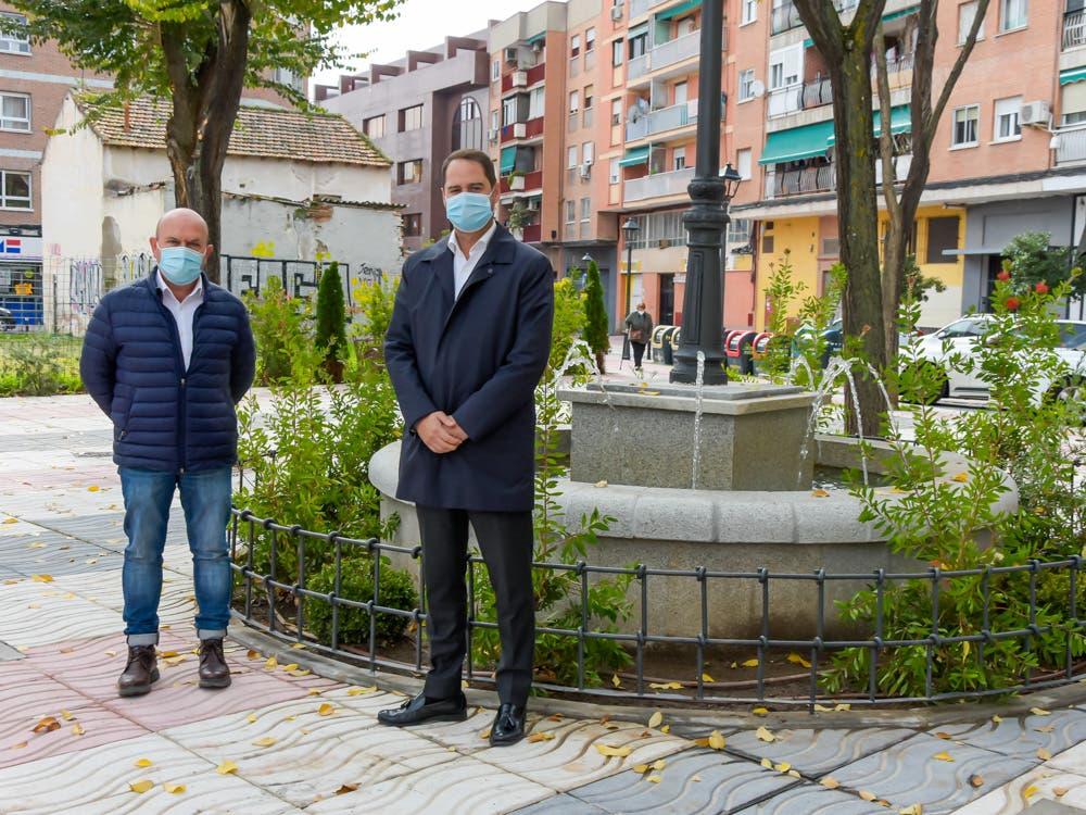 Torrejón de Ardoz mejora varias calles y plazas del centro