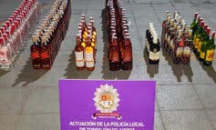La Policía de Torrejón de Ardoz incauta tabaco ilegal y alcohol sin registro sanitario