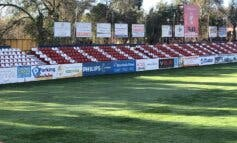 Alcalá de Henares instala 4.000 asientos del antiguo Vicente Calderón en el Estadio del Val