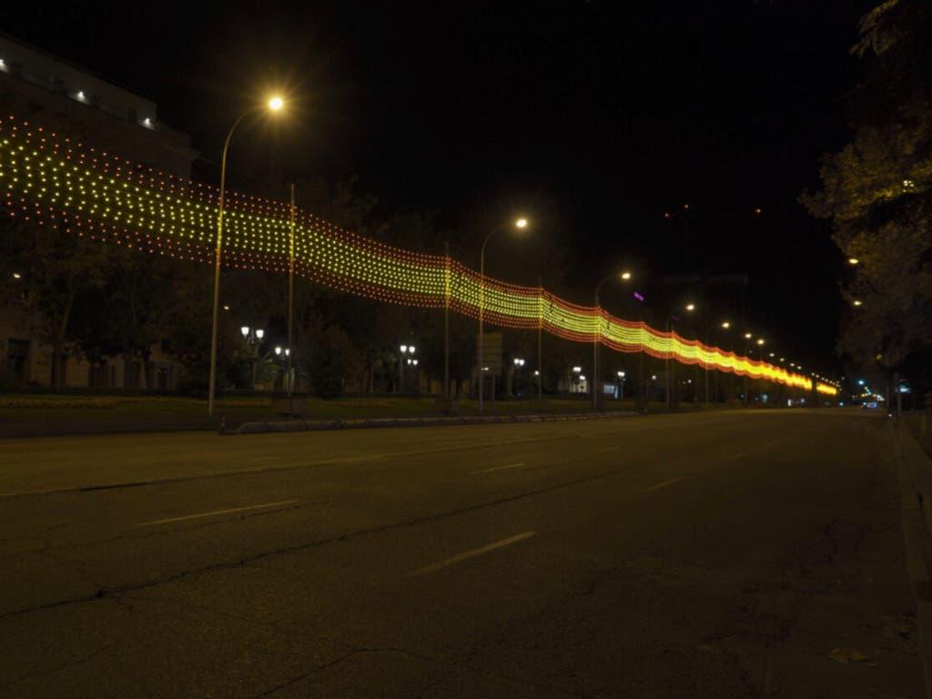 Más de 10,8 millones de bombillas LED ya iluminan Madrid por Navidad