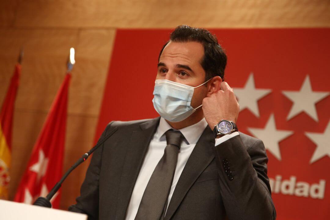 Madrid rechaza un cierre perimetral más allá del 14 de diciembre