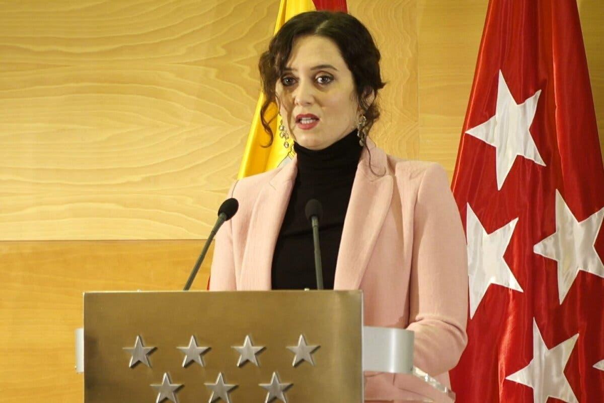 Homenaje a Diana Quer: Ayuso pide ampliar los supuestos de la prisión permanente revisable
