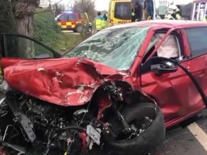 Muere un joven de 24 años en un accidente de tráfico en laM-507