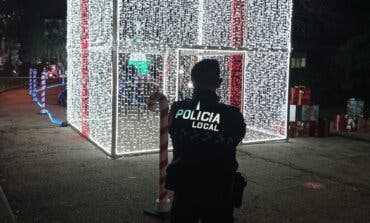 Detenidos en San Fernando de Henares por robar cable en la Ciudad de la Navidad