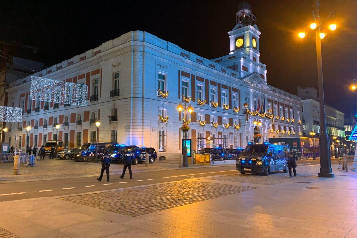 Nochevieja en Madrid: restricciones, toque de queda y sin celebración de campanadas