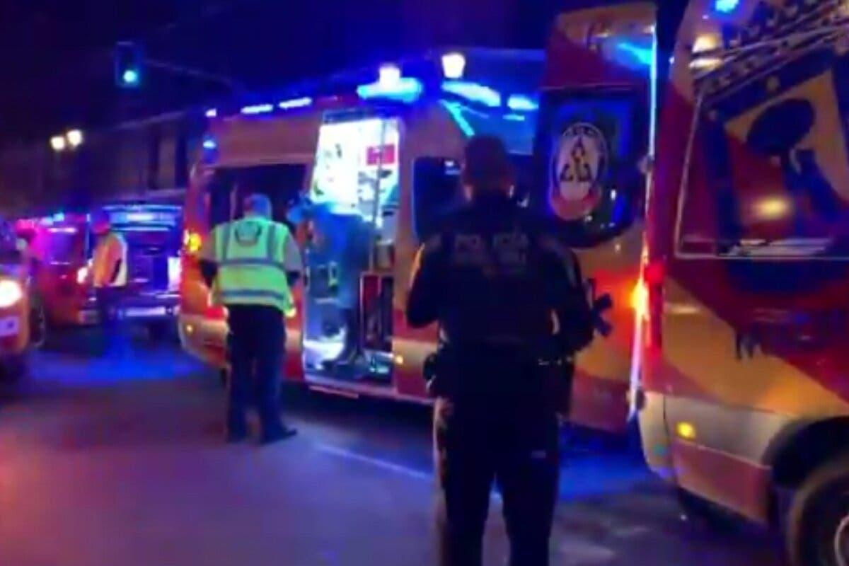 Un sintecho sufre graves quemaduras al incendiarse sus pertenencia en el Viaducto de Madrid
