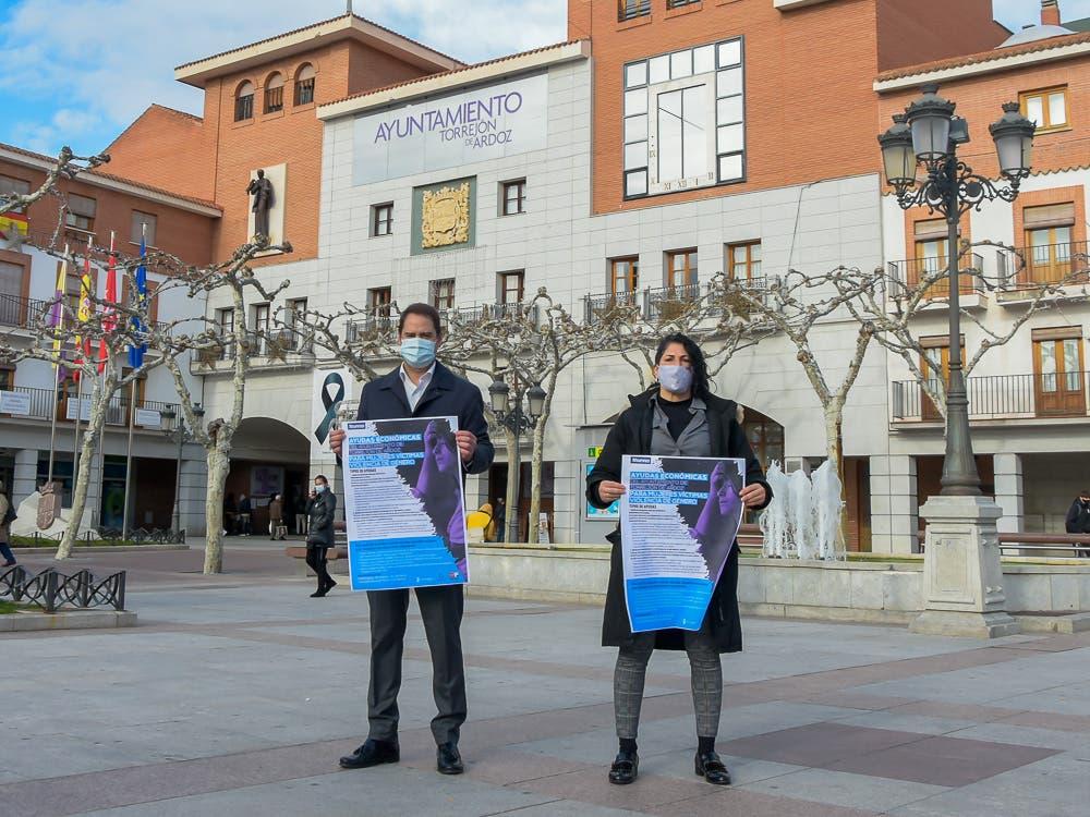 Torrejón de Ardoz concederá 105 ayudas económicas para mujeres víctimas de violencia de género