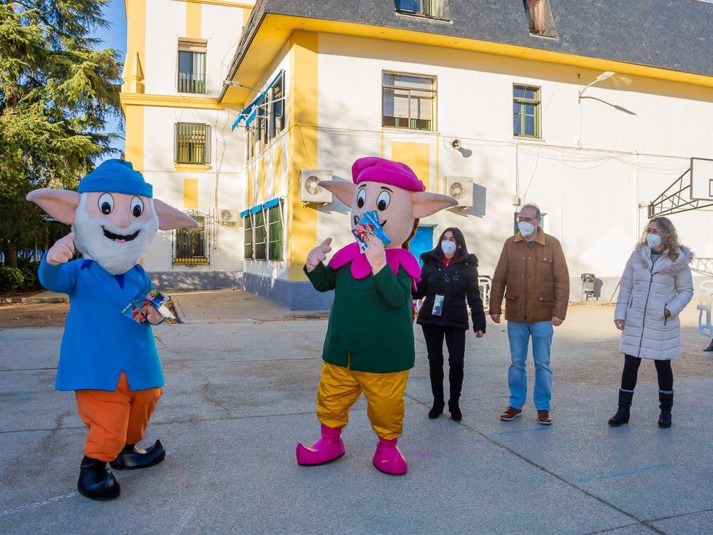 Los Guachis entregarán un detalle navideño a los escolares de Torrejón de Ardoz