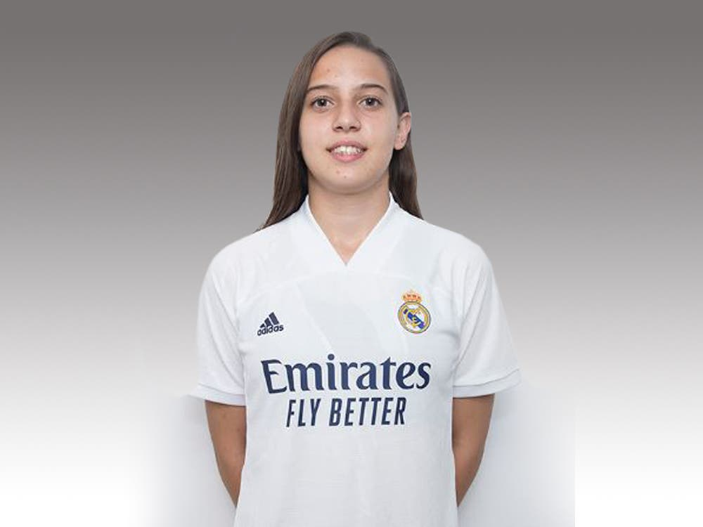 Nuria Díaz Gómez, primera torrejonera que juega en el Real Madrid