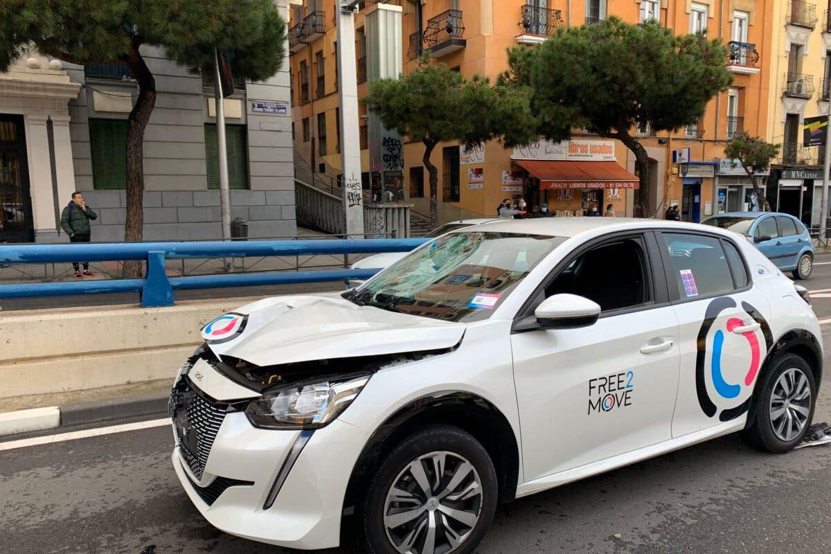 En estado crítico tras ser atropellado por un coche de alquiler en Madrid