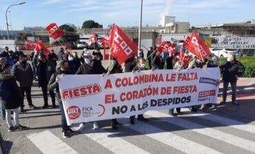 La plantilla de Fiesta, en Alcalá de Henares, inicia los paros por los despidos