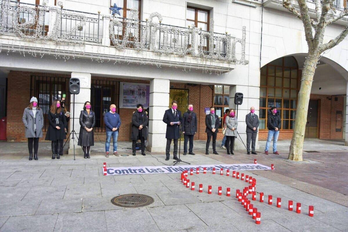Torrejón de Ardoz recuerda a Ionela, asesinada por su pareja delante de sus hijos