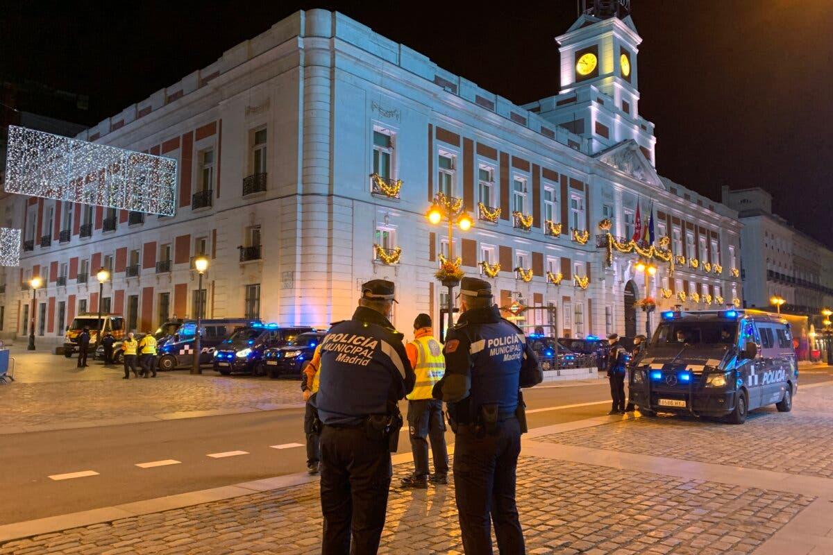 La Nochevieja en Madrid deja 185 fiestas en domicilios y 52 reyertas