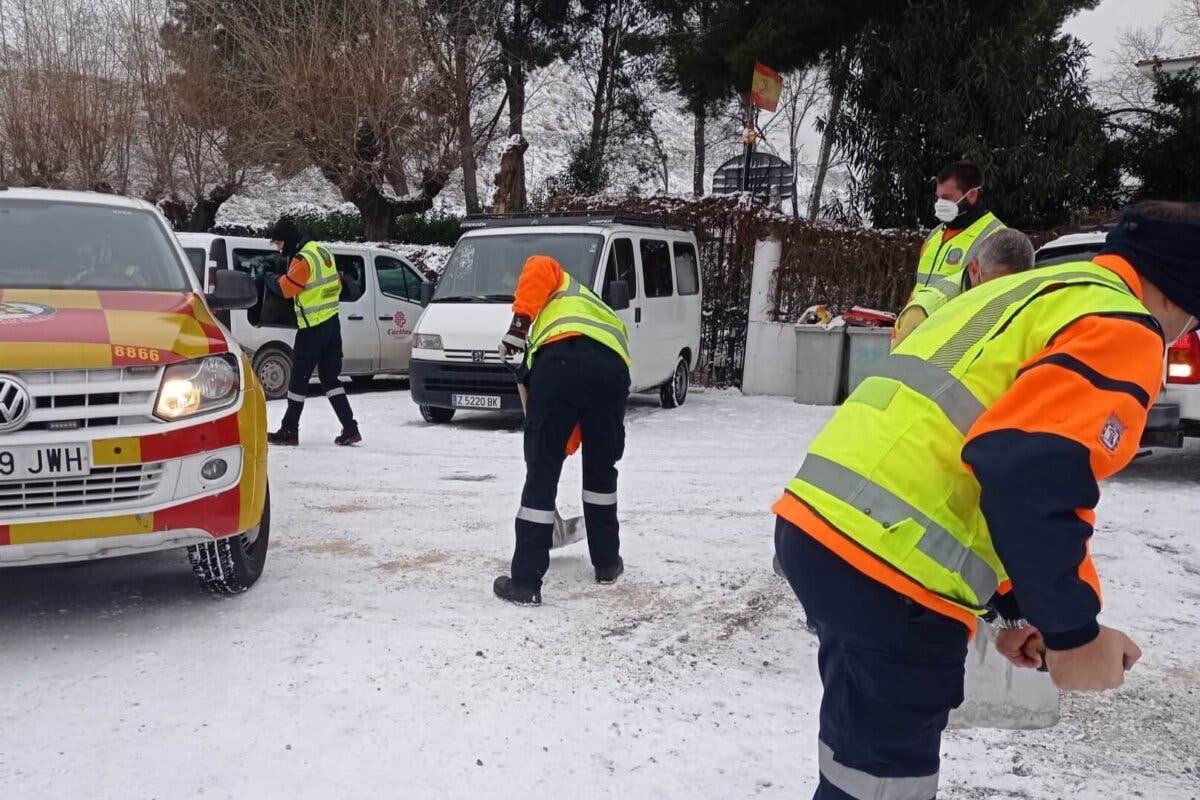 Madrid ante la nieve: «Algunas poblaciones pueden quedar aisladas y algunas carreteras principales cortadas»