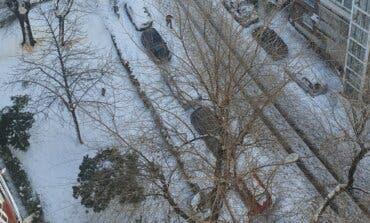 Madrid alerta del peligro del hielo tras la gran nevada