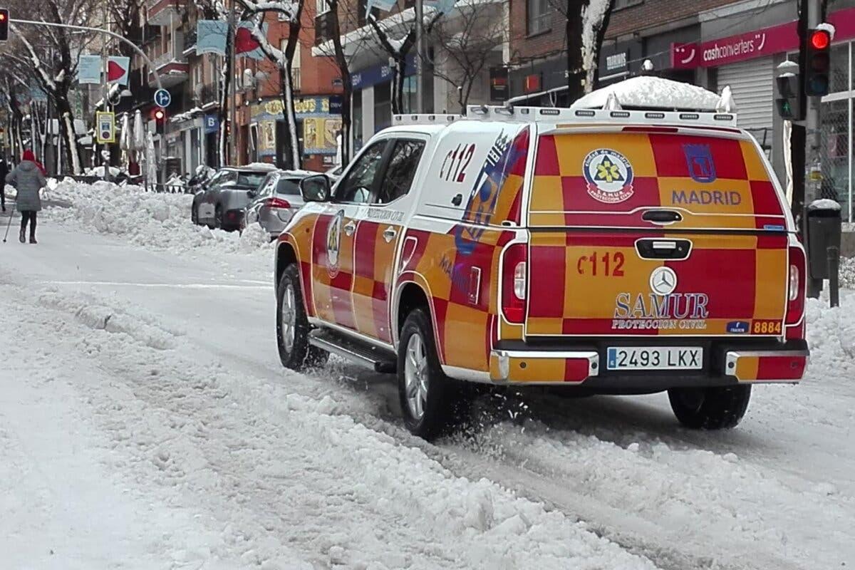Investigan tres muertes ocurridas en la calle en Madrid durante el temporal
