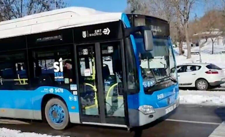 Almeida anuncia que los autobuses de la EMT serán gratuitos hasta el miércoles