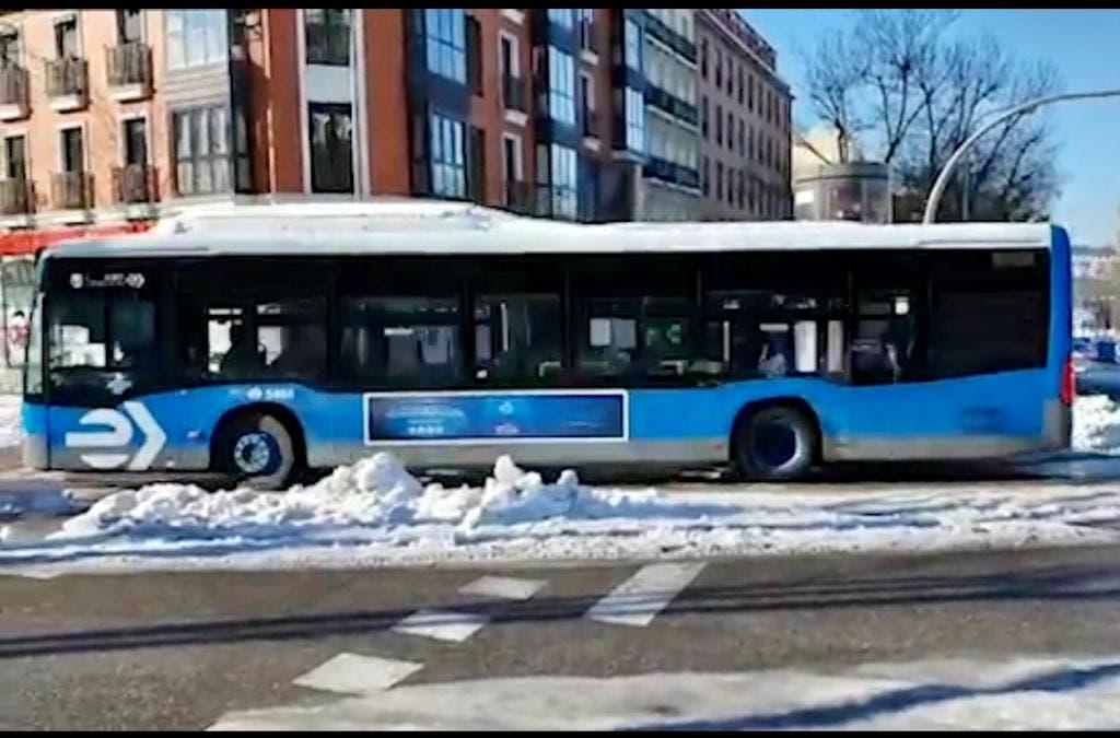 Madrid desactiva el protocolo anticontaminación este miércoles, último día con autobuses gratuitos