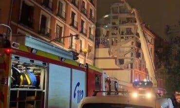 La explosión en un edificio de Madrid deja finalmente tres muertos