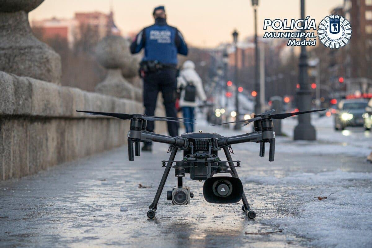 Madrid controlará con dronesel cumplimiento de las nuevas restricciones