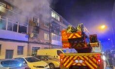 Permanecen graves mujer e hijo del fallecido en el incendio de Alcalá de Henares
