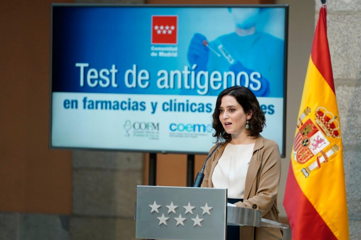 Ayuso carga contra el papel de Sánchez durante la pandemia: «Ni siente ni padece»