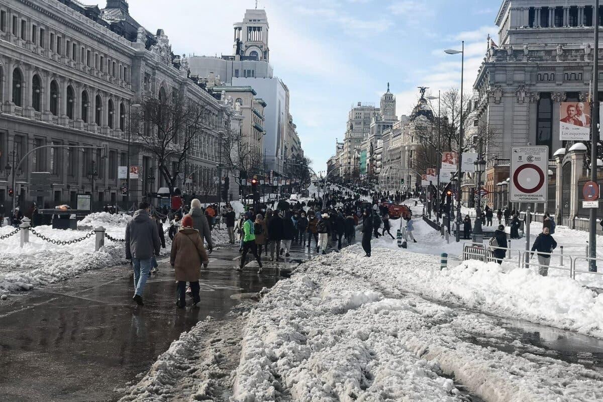 Madrid capital solicitará este jueves al Gobierno la declaración de zona catastrófica