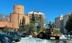 Despejadas de nieve las principales vías de Alcalá, Torrejón y Guadalajara