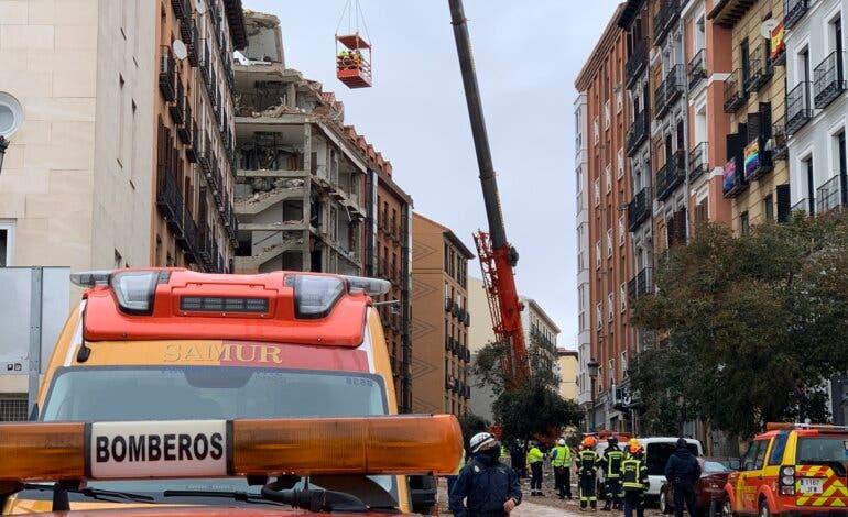 La reparación de un radiador, posible origen de la explosión del edificio de la calle Toledo