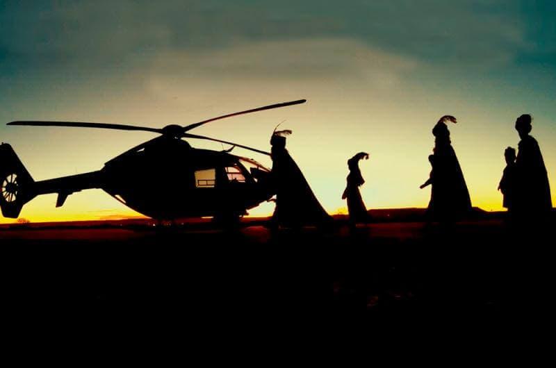 Los Reyes Magos sobrevolarán Torrejón de Ardoz en helicóptero