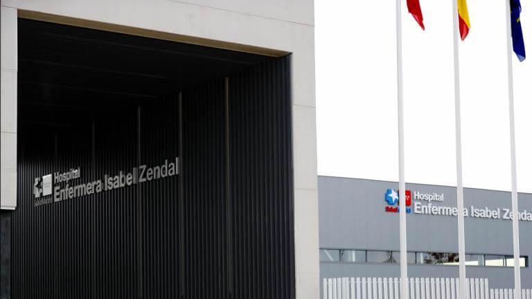 El nuevo Hospital Isabel Zendal de Madrid ya ha atendido a 153 pacientes Covid
