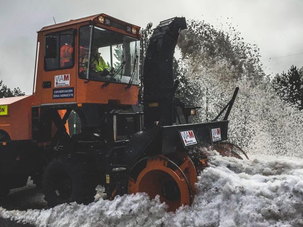 La Comunidad de Madrid, en alerta roja por nevadas de hasta 20 centímetros