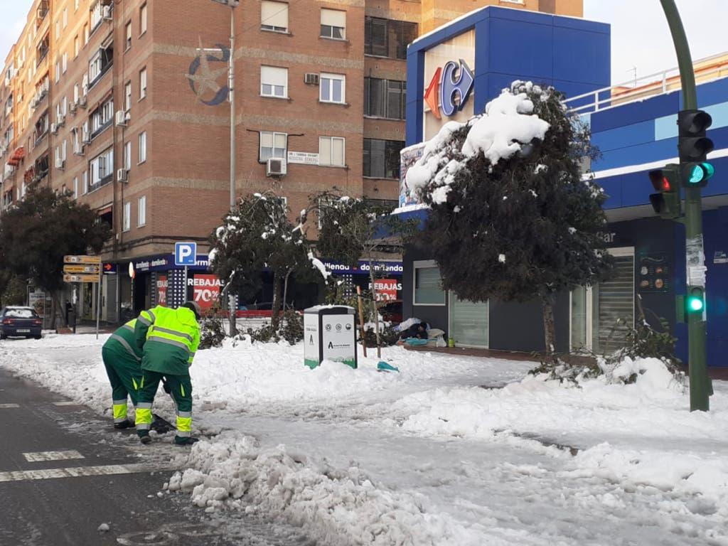 Alcalá de Henares y Torrejón de Ardoz facilitan justificantes laborales por la nevada