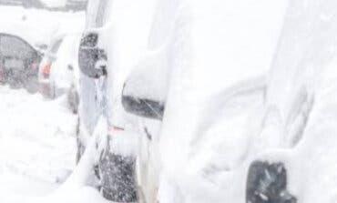 Una familia quedó atrapada en el tanatorio de Coslada por el temporal