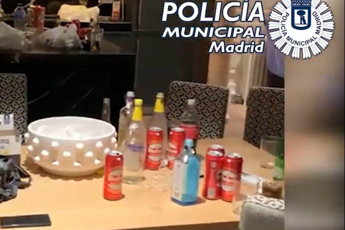 Desalojan dos fiestas en Madrid en pisos alquilados por franceses para ello