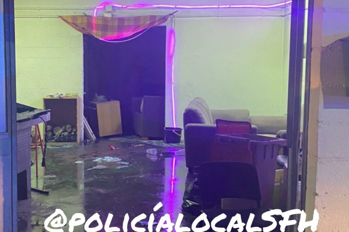 Una reunión de jóvenes en San Fernando acaba en incendio y con denuncias por incumplir las medidas sanitarias