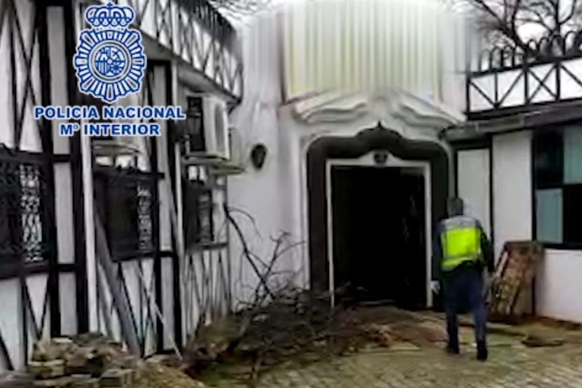 Desmantelada una plantación de marihuana en un salón de bodas de Mejorada del Campo