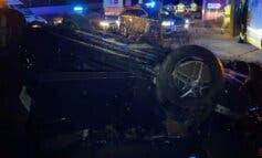 Herido muy grave tras chocar su coche contra una rotonda en Ajalvir