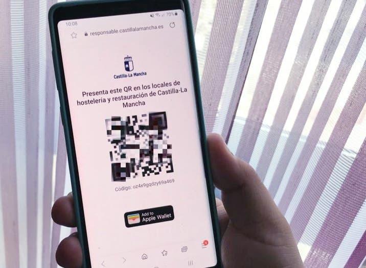 El QR para entrar en los bares de Guadalajara que no descarta implantar Madrid