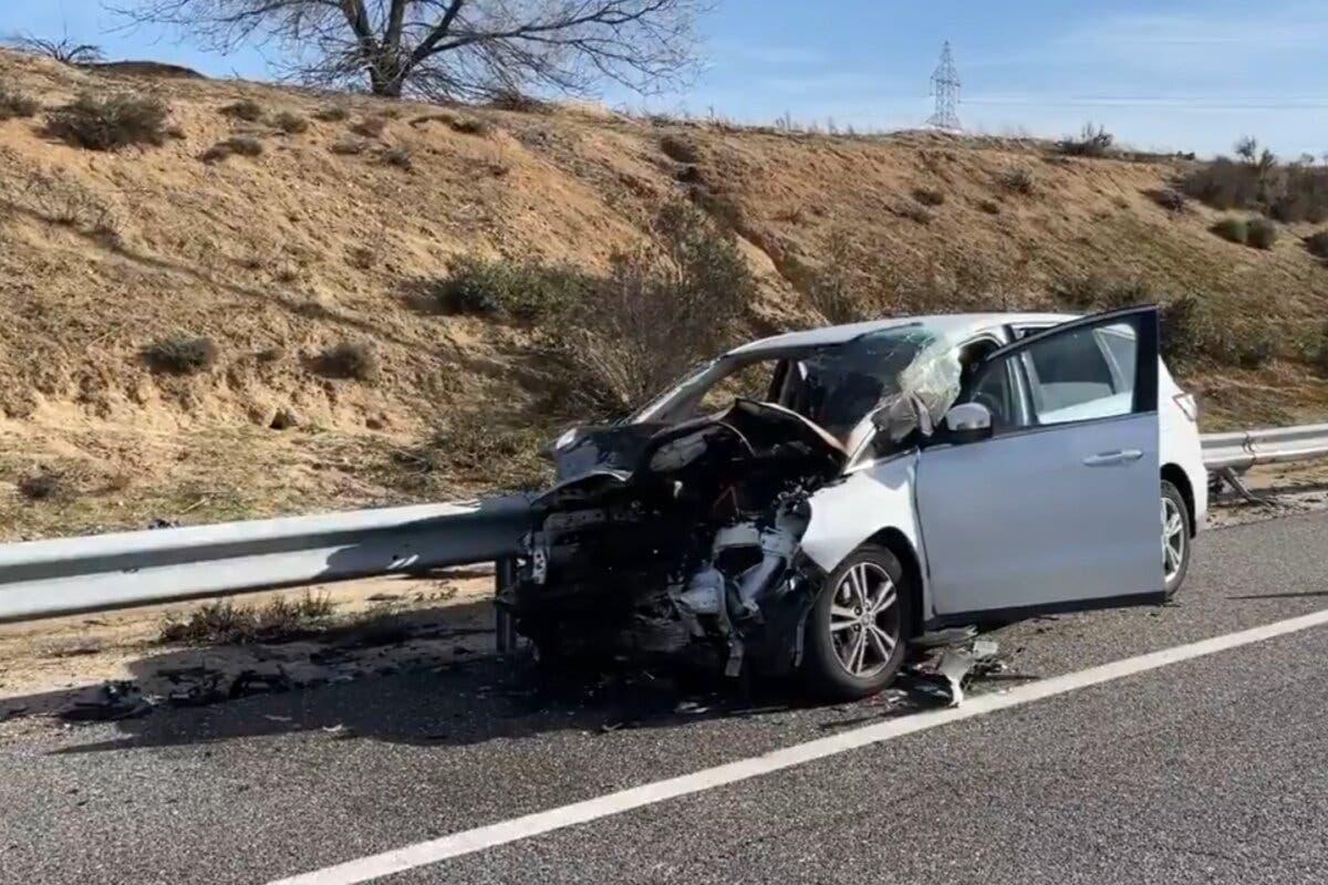 Muere un joven de 32 años tras quedarse sin gasolina y ser embestido por otro turismo en Fuenlabrada