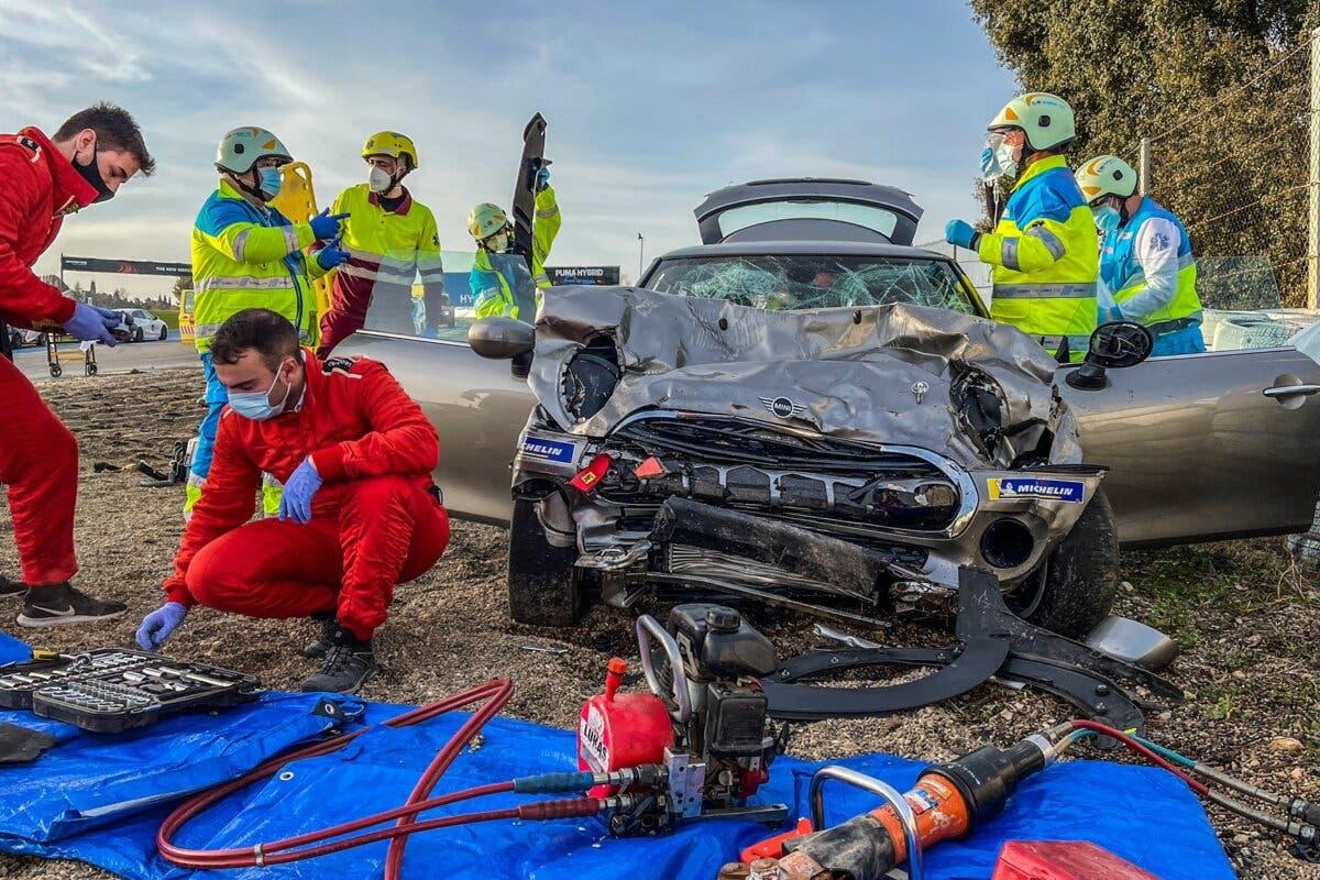 Muere un joven de 18 años en un accidente en el Circuito del Jarama