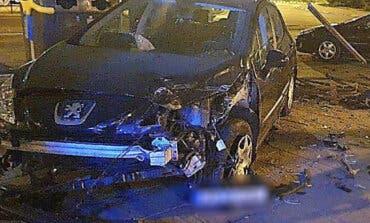 Detenido en Coslada un conductor ebrio tras estrellar su coche contra otro vehículo estacionado y darse a la fuga