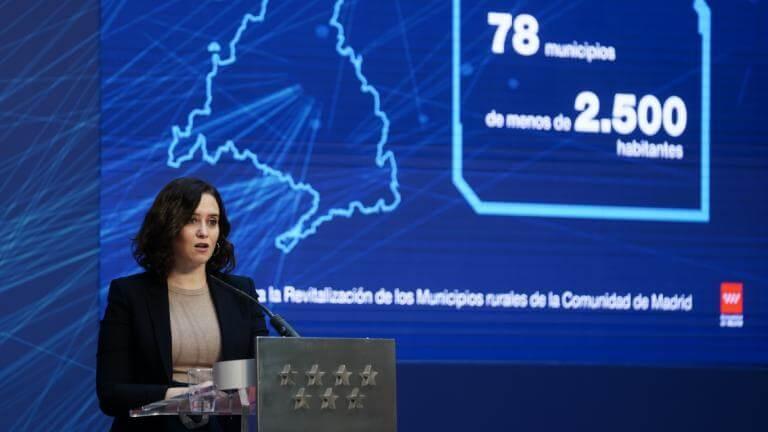 La Comunidad de Madrid extiende la fibra óptica a todos los municipios de la región