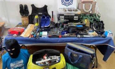 Desarticulada una banda que robó 239 bolsos en una tienda de lujo de Madrid