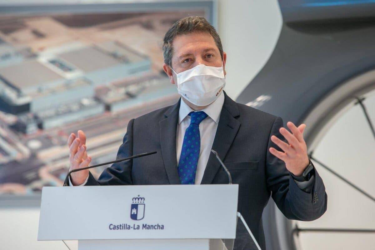 Page avanza que aliviará las restricciones en Castilla-La Mancha este fin de semana
