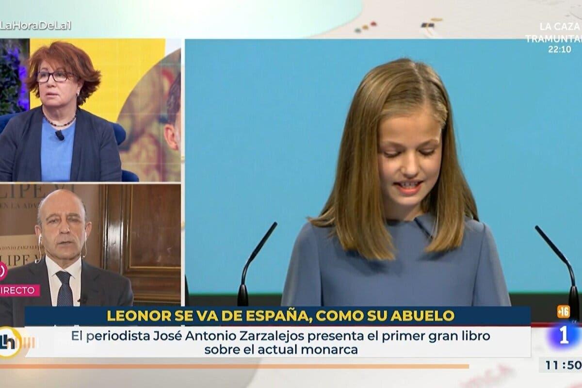 El autor del rótulo contra Leonor en TVE fue jefe de prensa del PSC
