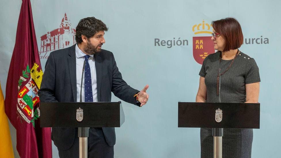 Fracasa la moción de censura en Murcia que provocó el adelanto electoral en Madrid