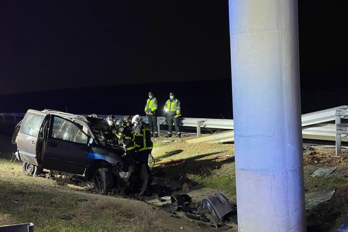 Muere un conductor en un accidente de tráfico en Alcalá de Henares