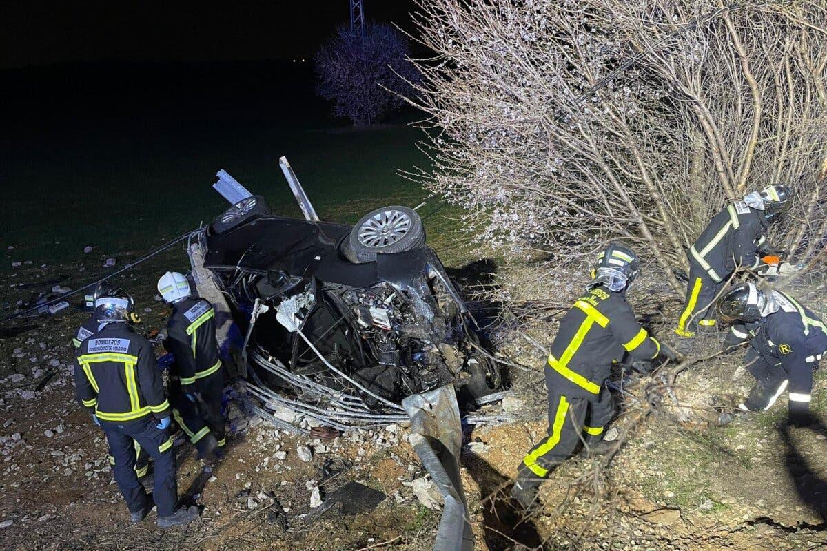 Muere un hombre en un accidente de tráfico en Pozuelo del Rey
