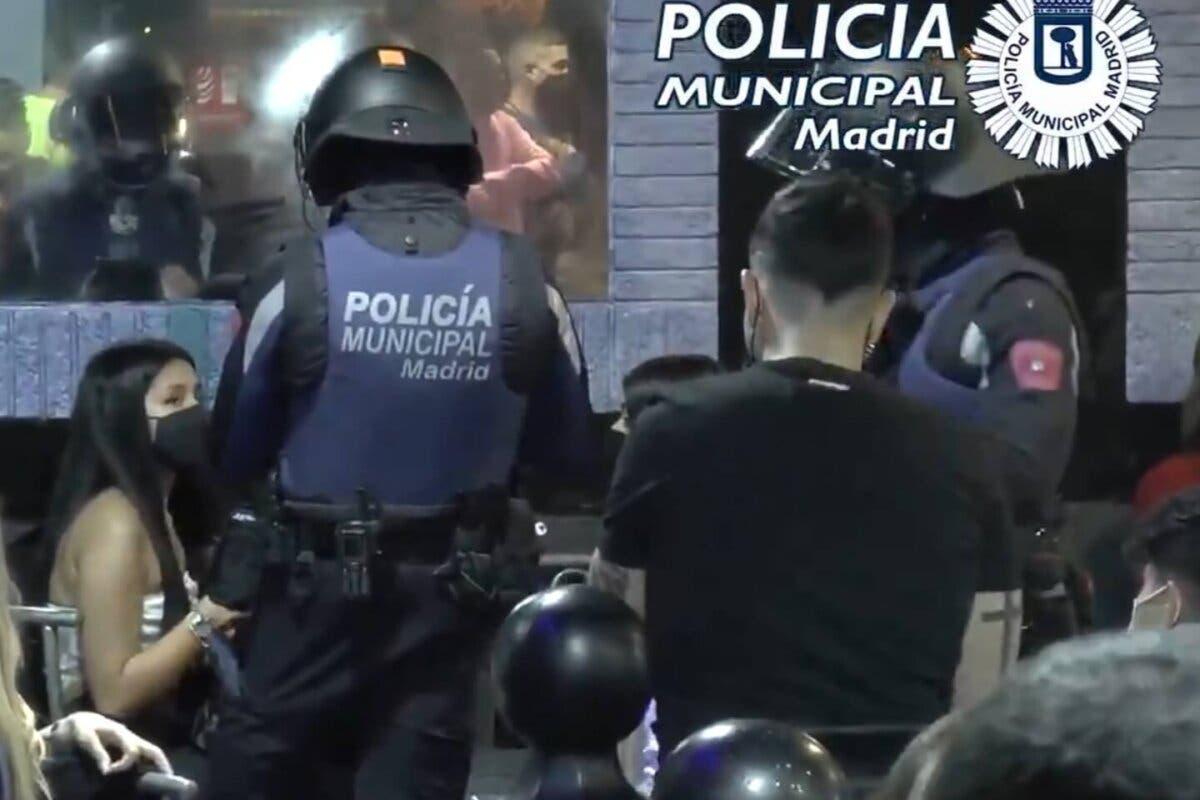 La Policía Municipal de Madrid interviene 414 fiestas ilegales durante el fin de semana